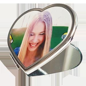 Makyaj Aynası - Kalp